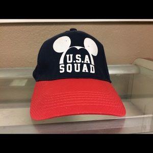 USA squad Disney hat soccer